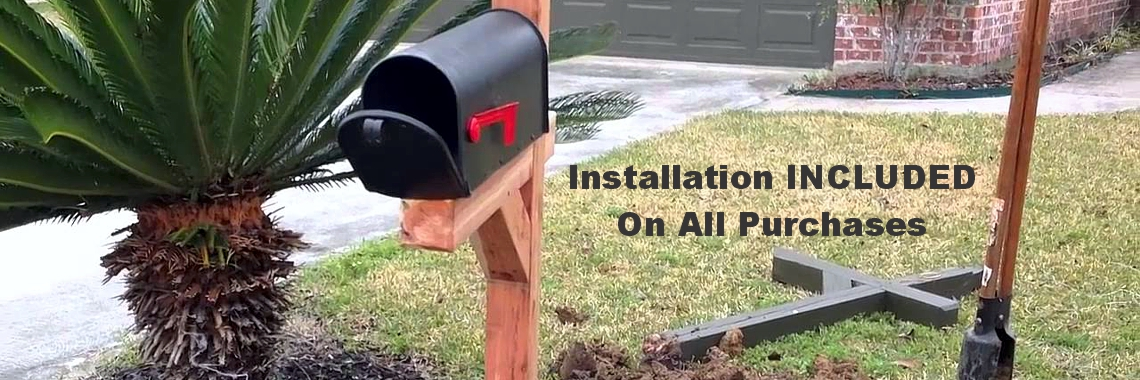 Installation Is Always Included!